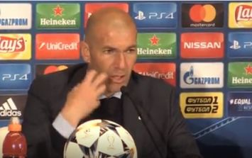 Zinedine Zidane responds to Gareth Bale's comments that he may leave Madrid