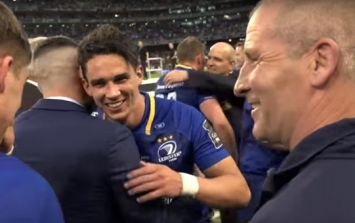 Stuart Lancaster's first words to Joey Carbery after Leinster win show he can't be allowed leave