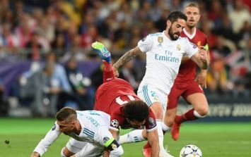 Petition asking Uefa to punish Sergio Ramos for 'intentionally hurting Mo Salah' nears 150,000 signatures