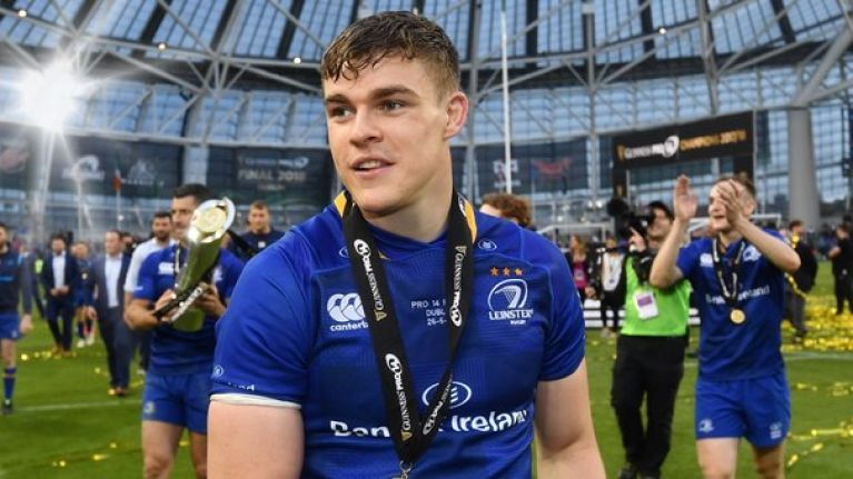 Garry Ringrose pays tribute to previously unsung star of Leinster's squad