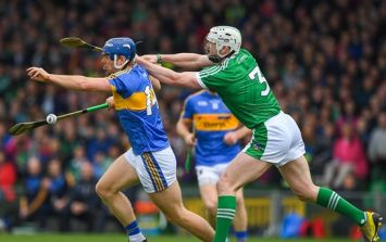 Both full back lines struggling as Tipperary and Limerick inside forwards doing damage
