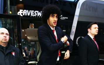 Marouane Fellaini in negotiations to make long-term move to AC Milan