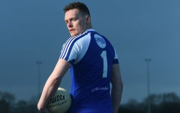 Rory Beggan pulled a very sly trick on Monaghan minors to get some extra free kick training in