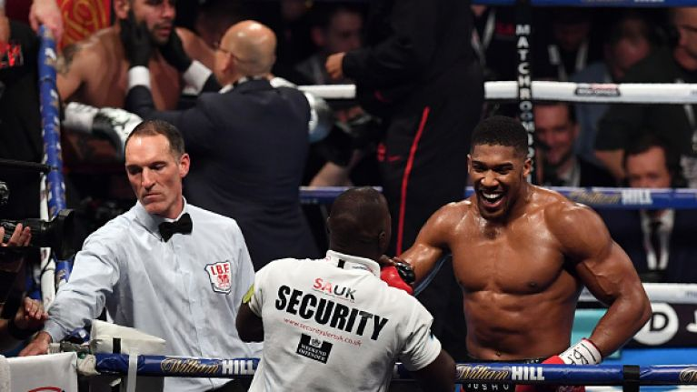 Anthony Joshua opponent Molina handed two year ban for positive test