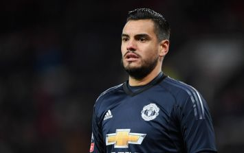 Manchester United's Sergio Romero ruled out of the World Cup with injury