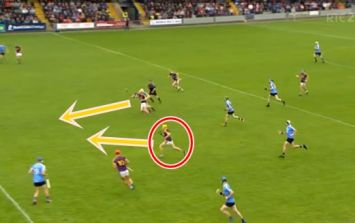 Ballsy move Wexford defenders use is like something you'd see in Gaelic football