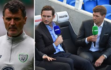 BT Sport want Roy Keane as a pundit to replace Steven Gerrard and Frank Lampard