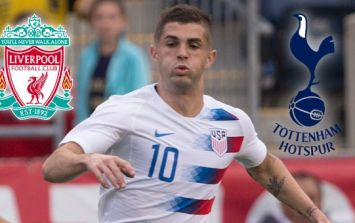 Spurs and Liverpool battling it out over Christian Pulisic