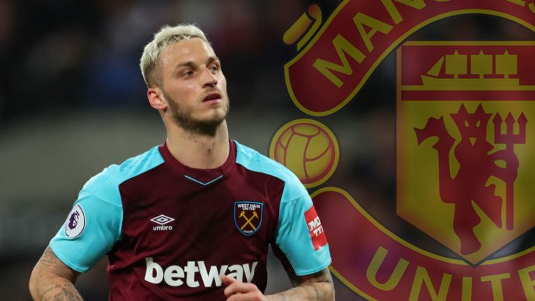 Manchester United want to sign West Ham's Marko Arnautovic, according to report