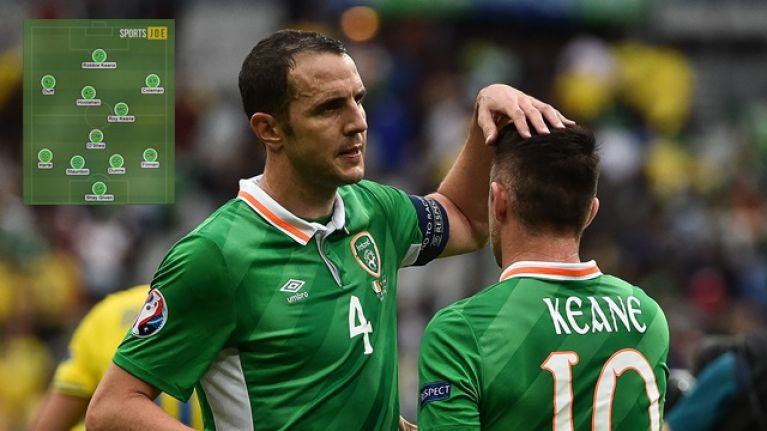 88c79a3517f An Ireland XI of the best players John O'Shea played alongside features some  of