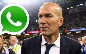 Zinedine Zidane got in touch with Sergio Ramos before he left Real Madrid