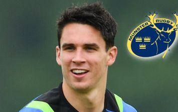 Joey Carbery confirms he has joined Munster on a two-year deal