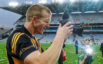 GAA photographer goes to new lengths to take photos on way to wedding