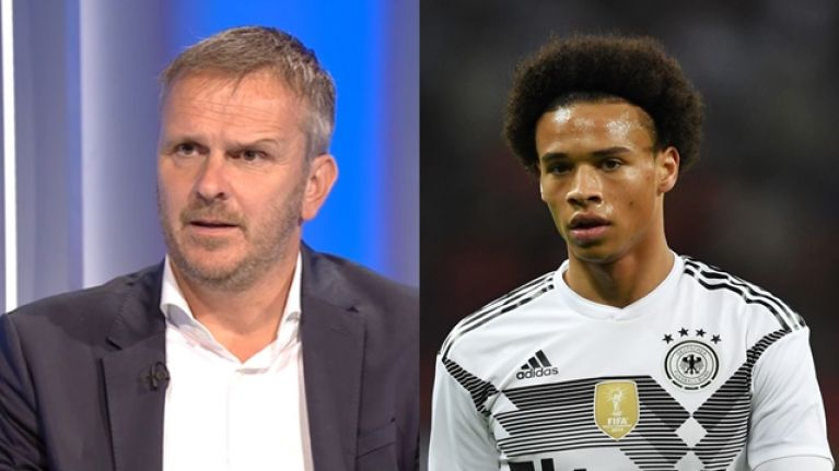 brand new 38f7b 6d466 Didi Hamann explains why Germany may have left Leroy Sane ...