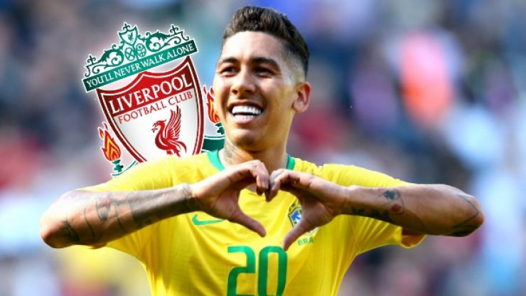 Roberto Firmino says Alisson has asked him about moving to Liverpool