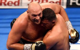 Tyson Fury actually took a break during return bout to watch crowd brawl