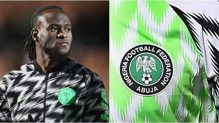 timeless design bbba7 7d72a Nigeria's World Cup jersey sells out after three million pre ...