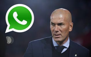 Here's the text message Zinedine Zidane sent to his players after he quit Real Madrid