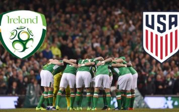 The Republic of Ireland have named their team for friendly against USA
