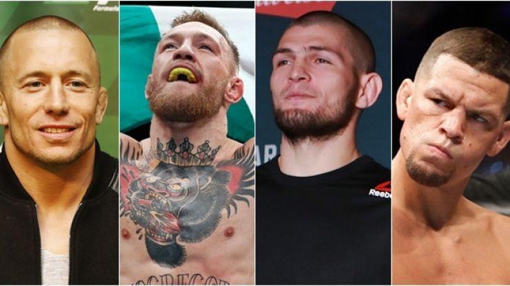 UFC reportedly planning mini-tournament featuring McGregor, Diaz, Nurmagomedov and GSP