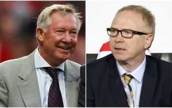Alex McLeish on the bizarre reason he had a five-month feud with Alex Ferguson