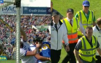 Referee escorted off pitch, umpires all over the shop and Tipp Waterford draw
