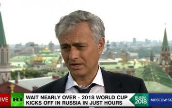 Jose Mourinho weighs in on 'strange' Julen Lopetegui sacking from Spain