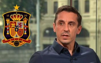Gary Neville offers blunt response to Spain's decision to sack their manager before the World Cup