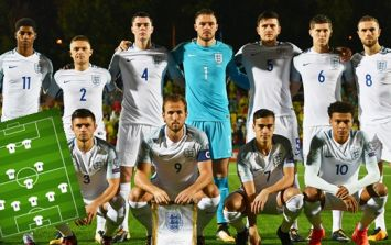 England's expected starting XI for opening game is actually very decent