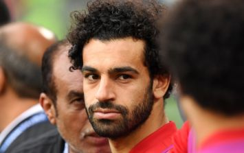 Mohamed Salah well within his rights to turn on this cheeky World Cup mascot