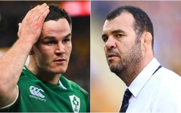 Michael Cheika reaction to Johnny Sexton question didn't go unnoticed