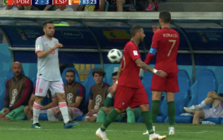 Cristiano Ronaldo gets last laugh after gloriously petty incident with Jordi Alba
