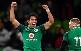 Joey Carbery can now add a new position to his rugby CV after crazy finish in Melbourne
