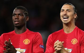 Zlatan has a strong message for Paul Pogba's haters