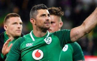 Rob Kearney's 22nd minute encounter with Michael Hooper was telling