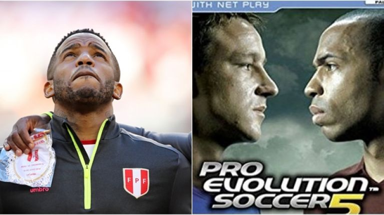 Fans can't believe PES legend is still playing after he pops up in World Cup clash