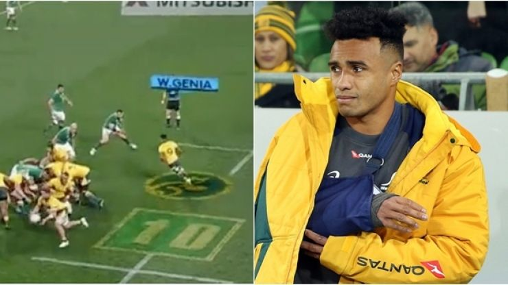 New footage of Cian Healy collision with Will Genia has emerged