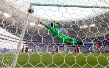 Aleksandar Kolarov scored a stunning free-kick against Costa Rica
