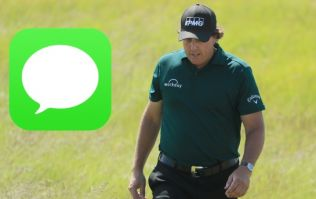 Phil Mickelson's private text to golf reporter after US Open meltdown should not have been shared