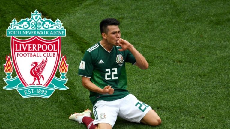 eb61b8070 Liverpool transfer target Hirving Lozano was impossible to ignore against  Germany