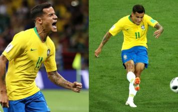 Coutinho scored the most Coutinho goal ever for Brazil against Switzerland