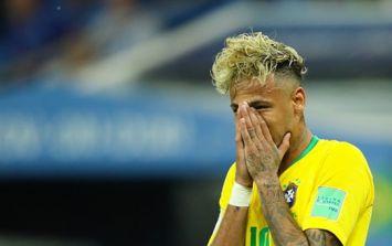 Neymar hobbles around after Brazil's draw with Switzerland