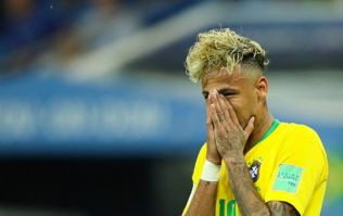 Neymar hobbles around after Brazil's draw with Switzerland