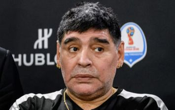 Diego Maradona has a ominous warning for Argentina's manager