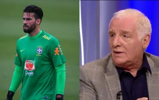 Roma had the perfect response to Eamon Dunphy's Alisson gaffe