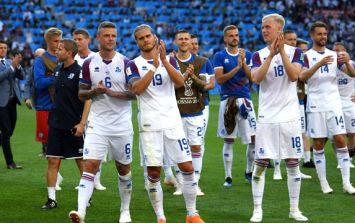 99.6% of Iceland's population were watching their draw against Argentina
