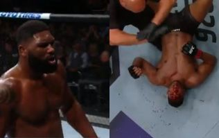 Curtis Blaydes brutally knocks out Alistair Overeem