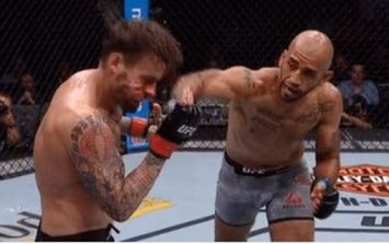 CM Punk completely outclassed in return to UFC's Octagon