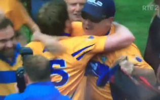 The joyous reaction to Clare's first championship win over Tipperary in Thurles in 90 years