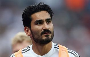 İlkay Gündoğan responds to boos from Germany fans during friendly against Saudi Arabia